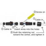 Konektor kablova vodootporni IP68 - set